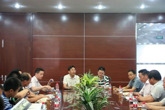 吴江印染企业代表来我集团参观